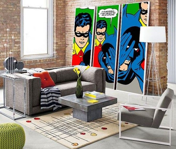Decor And Style Archive Incredible Pop Art To Decorate Your Home