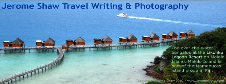 The over the water bures at Likuliku Lagoon Resort on Malolo Island in Fiji. http://www.examiner.com/article/likuliku-lagoon-resort-fiji-s-first-and-only-over-water-bures-seduce-travelers