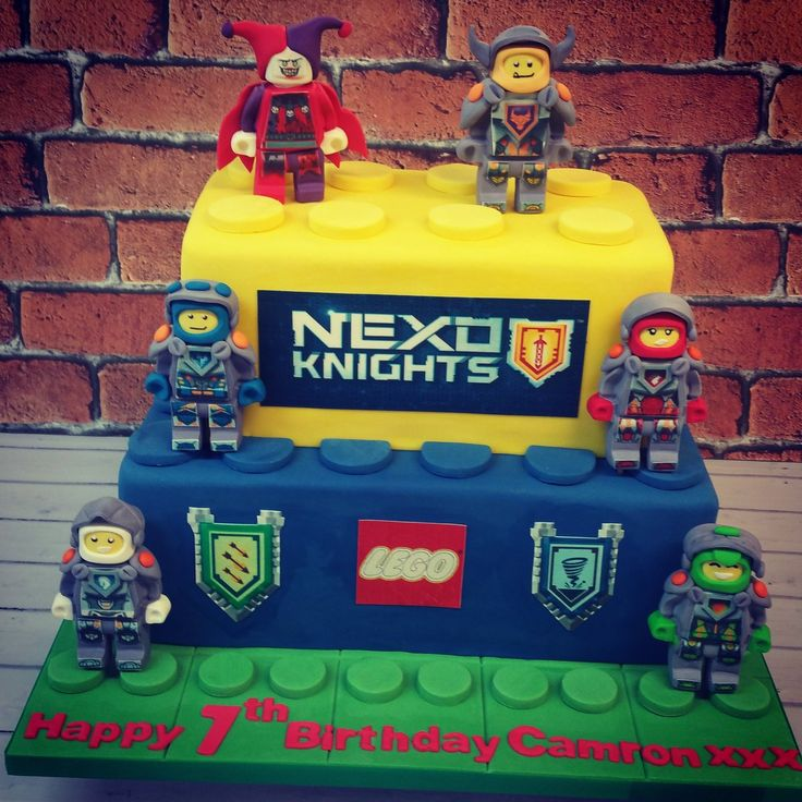 9 best lego nexus knight party images on Pinterest Cake ideas
