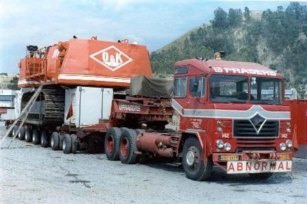 FODEN with OK 120ton shovel in South Africa