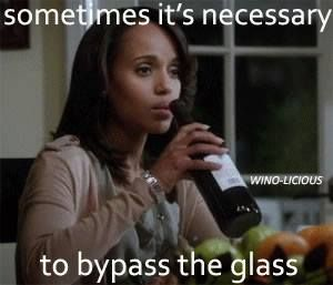Yesssss sometimes it's necessary to bypass the glass..... haha