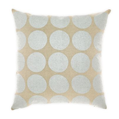 Spot Cushion in Silver 50cm
