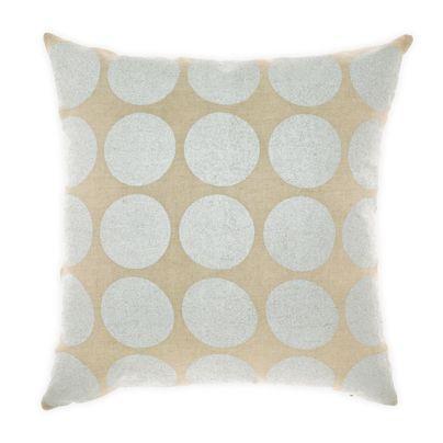 Spot Cushion in Silver 50cm