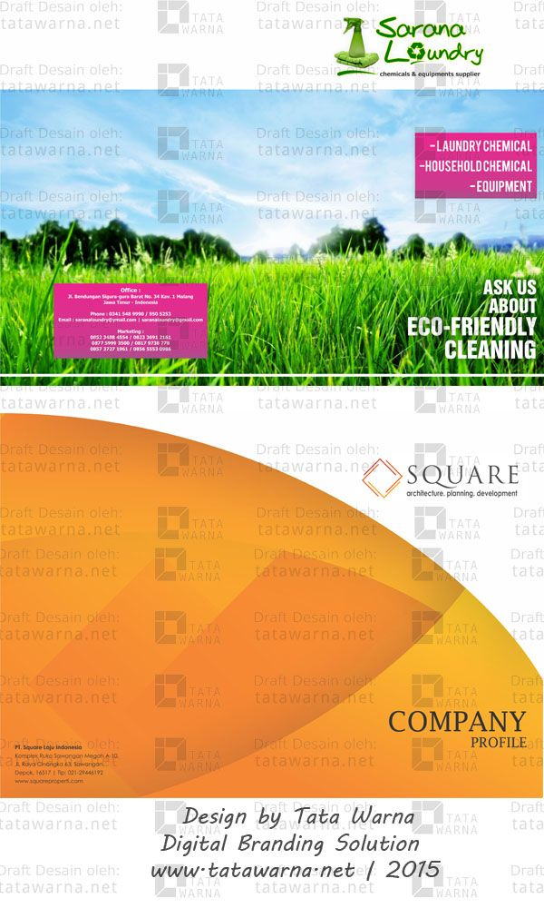 Contoh desain booklet #Icon #Colour #Web #Design #DesainLogo #DesignIcon #FullColour #CompanyProfile