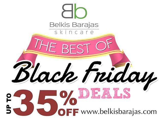 Black Friday last minute! — The Black Friday Event is here! Check out the some of the best deals of the season @ WWW.BELKISBARAJAS.US Aprovecha nuestras ofertas de Black Friday solo en WWW.BELKISBARAJAS.COM Nuestro SUPER KIT PARA HIDRATACION contiene todo lo que necesitas para mantener tu Piel del #rostro SUPER BELLA #belkisbarajas #blackfridaydeals #blackfriday