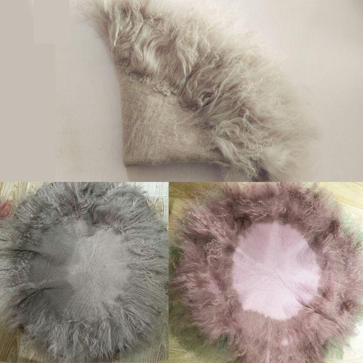 Newborn Baby photography Long Faux Flokati Fur Curly Wool Basket Stuffer Bebe Fotografia Foto Studio Newborn Fotografia Blanket