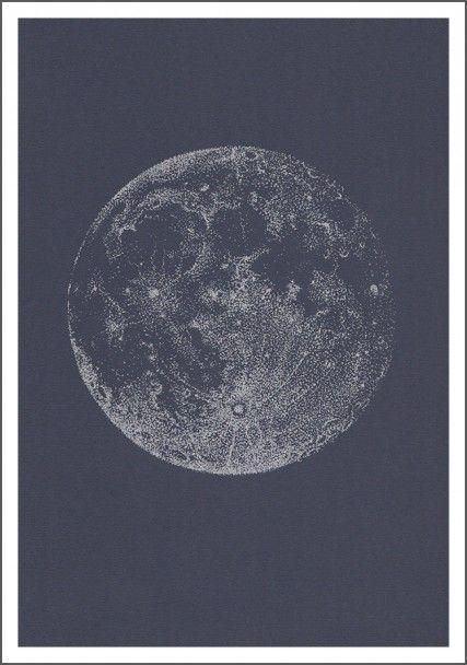 Pleine lune argentée | Sabrina Kaici