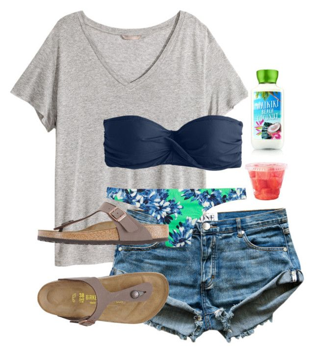 """Can't wait for summer days by the pool"" by scpprep ❤ liked on Polyvore…"