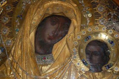 Περιβόλι της Παναγιάς: Προσευχή του Αγίου Νεκταρίου στην Παναγία