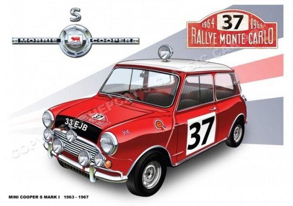 Mini Cooper S - 1964 Rally Monte Carlo driven by Paddy Hopkirk
