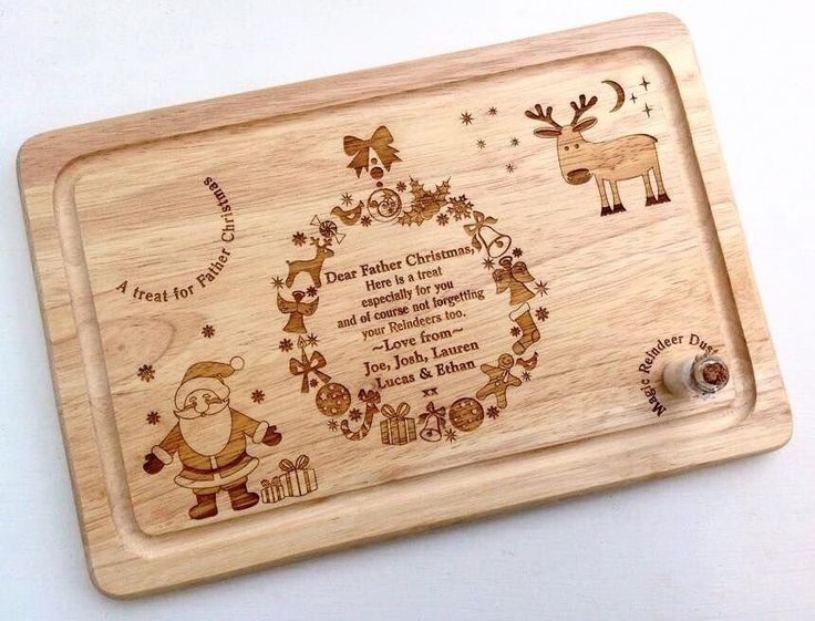 Whether he be Santa or Father Christmas in your household we all like to leave a little treat for the Big Guy on Christmas Eve With this beautiful