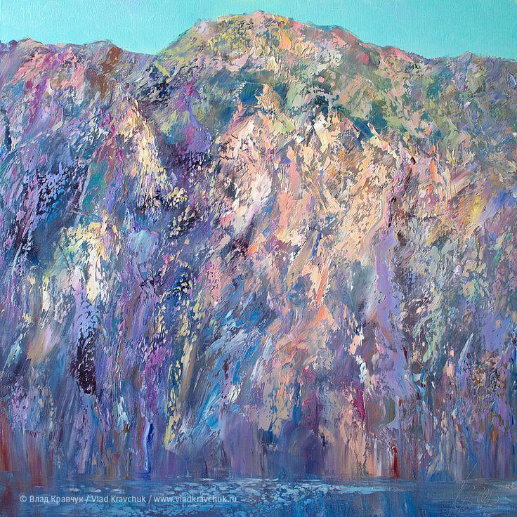 Италия. Озеро Гарда, 2013. Холст, масло, 80х80