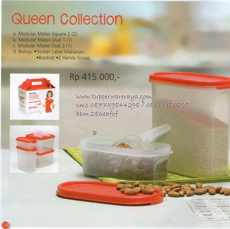 Katalog Tupperware Promo Agustus 2014 - Queen Collection