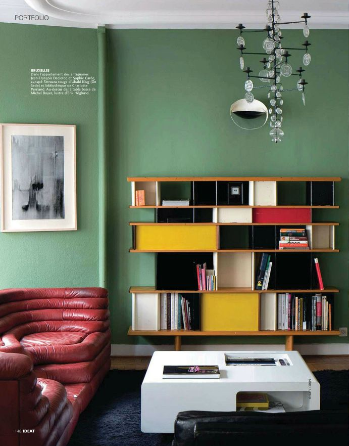 Mid Century Modern Living Room From Ideat Home Decorating Magazine