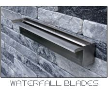 waterfall blades oase