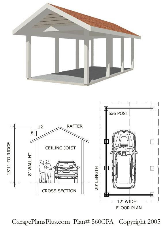 25 best ideas about carport designs on pinterest for Open carport plans