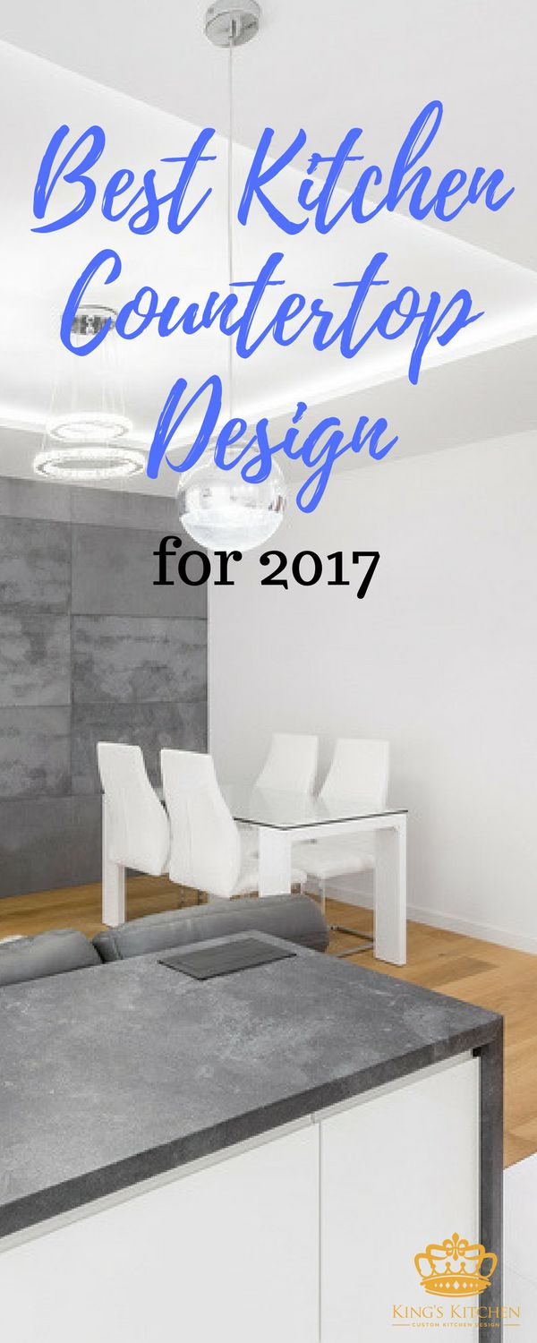 I have the top color & material trend for 2017 for you! Find out why this Design by Caesarstone is my top Kitchen Countertop Choice for 2017.