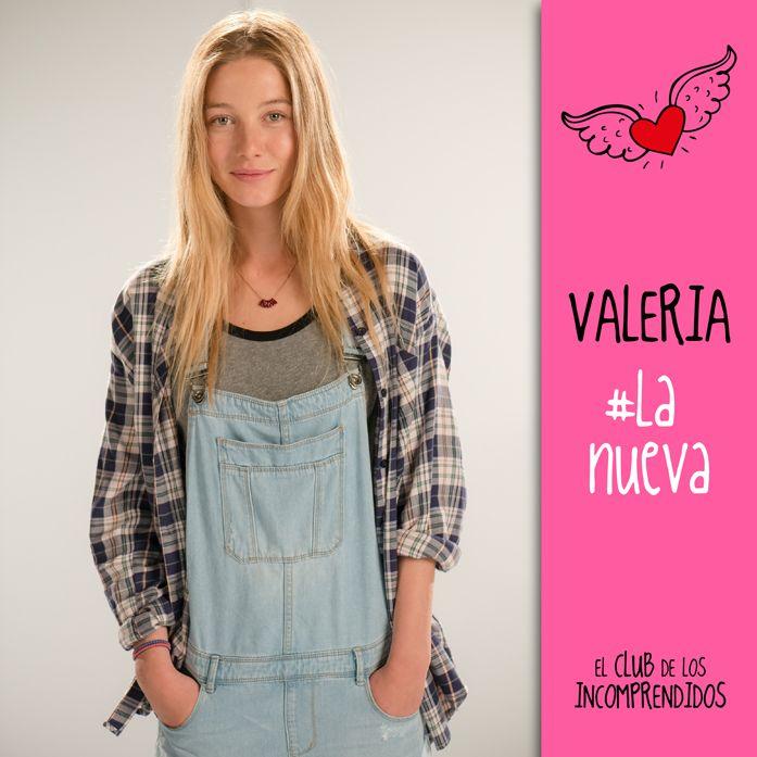El club de los Incomprendidos#Valeria#Timida#Nueva