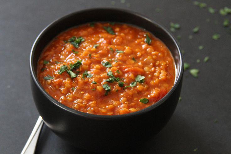 Smoky Red Lentil Soup | Lattes & Leggings