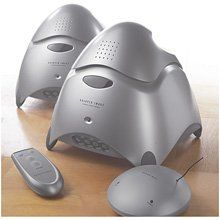 Sharper Image 900mhz Outdoor Wireless Speakers For Sale