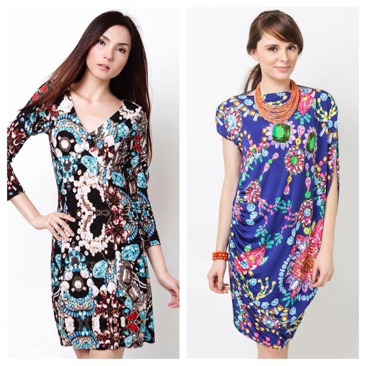 Gem print dresses by Daria Clothing Available at: www.zalora.com.ph/Daria