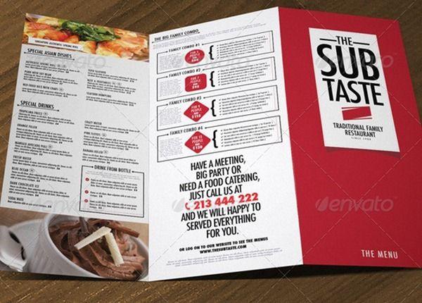 48 best Menus images on Pinterest Graph design, Food menu and - free food menu template