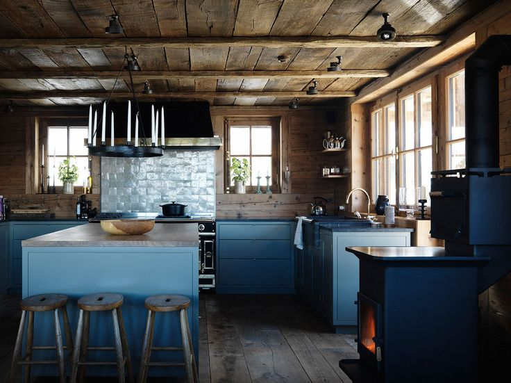 FAVOURITE KITCHENS OF 2015 – Abigail Ahern Blog wood stove