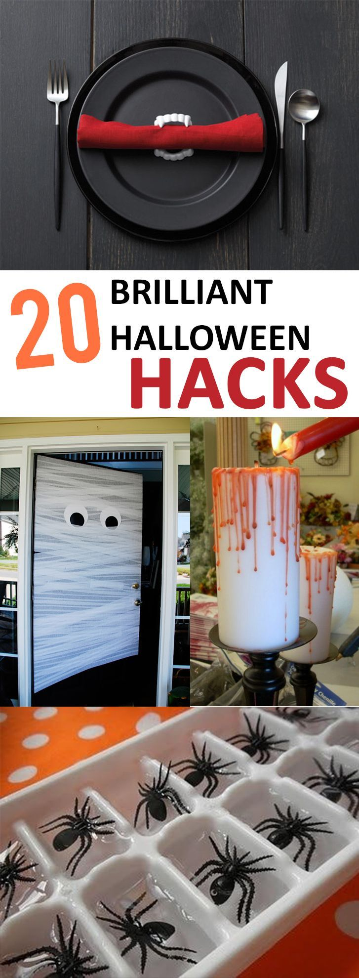 20 Brilliant Halloween Hacks