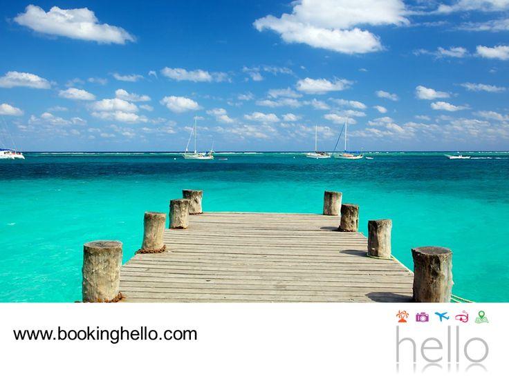 EL MEJOR ALL INCLUSIVE AL CARIBE. Cancún es uno de los destinos con mayor demanda turística, gracias a sus paisajes paradisíacos, la belleza de sus monumentos mayas y su gran variedad de playas; ideal para disfrutar alguno de los packs all inclusive que en Booking Hello creamos. Te invitamos a visitar nuestro sitio en internet www.bookinghello.com, para conocer las opciones en packs y resorts que tenemos para ti y tus amigos.  #bookinghello