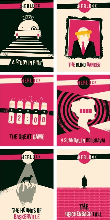 Sherlock. I don't like how the whole color scheme is pink but other than that, this is cool.