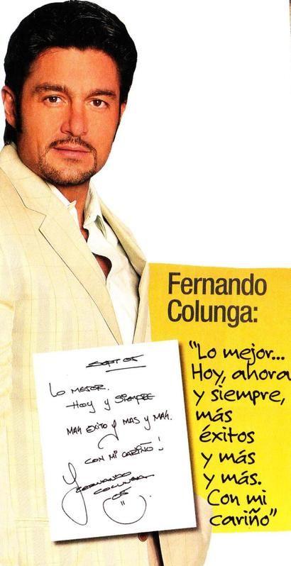 Фернандо Колунга / Fernando Colunga - Страница 115