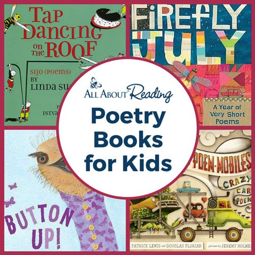 Poetry Books for Kids - from All About Reading