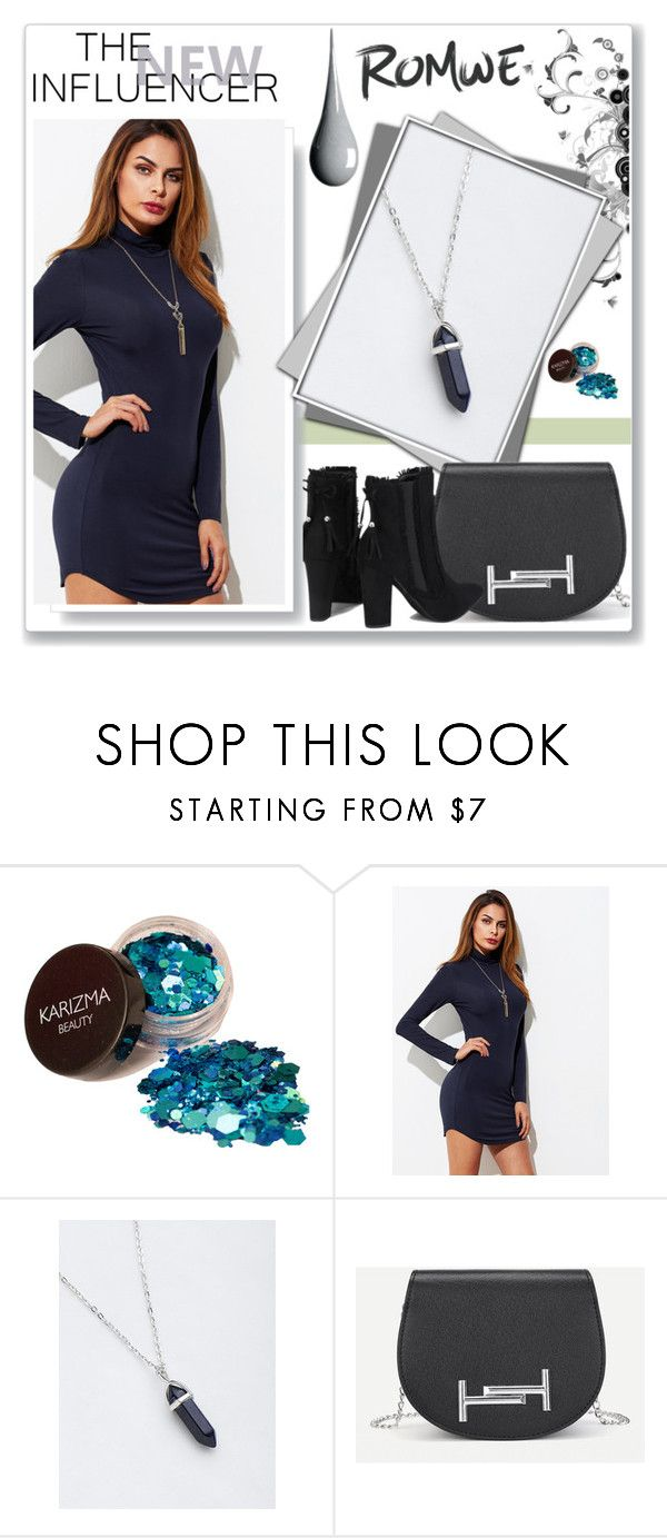 """""""ROMWE 10 / X"""" by selmamehic ❤ liked on Polyvore"""