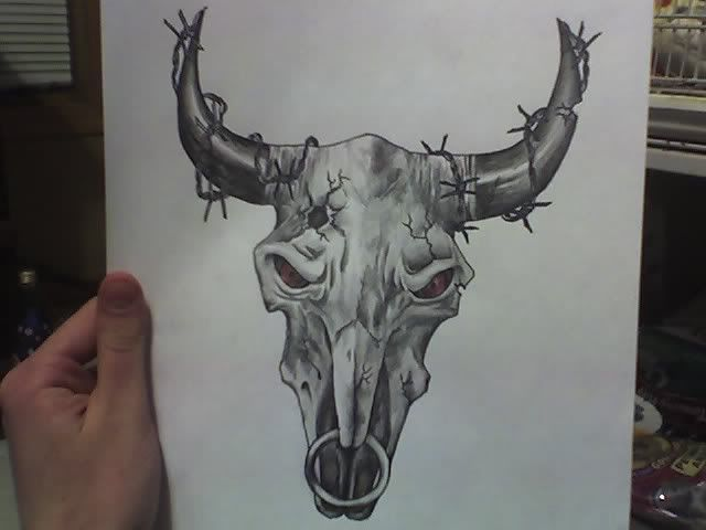 Cattle Skull Google Search Tattoo Reference Photos