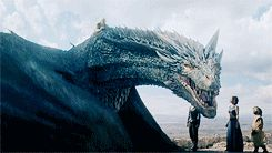 Daenerys riding Drogon, Game of Thrones Season 6 Episode 9