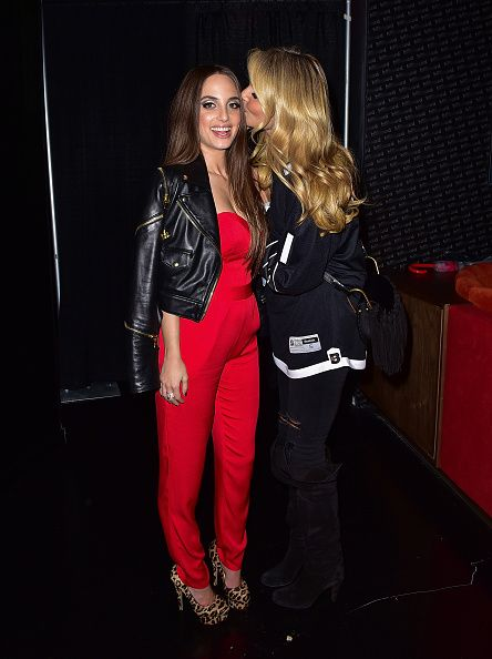 EXClUSIVE COVERAGE Alexa Ray Joel and Christie Brinkley pose after Alexa Ray Joel's performance at Billboard Lounge amplified by Lightpath at...