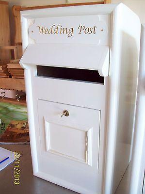 wedding post box replica of royal mail