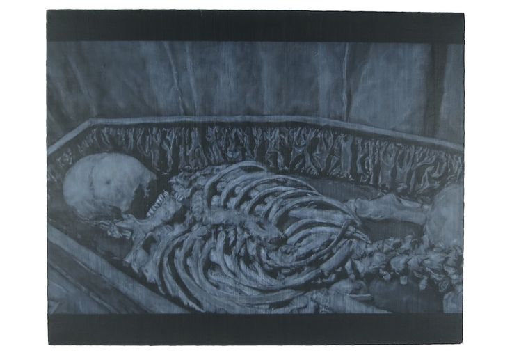 Death Grips' MC Ride Shares Haunting Original Artwork - Stereogum
