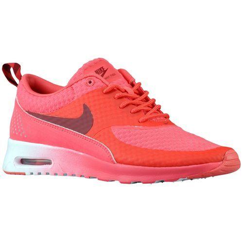 Nike Air Max Thea Grau Coureurs Roses Indiquent