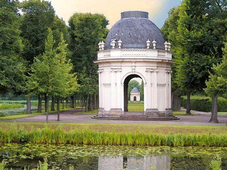 Lovely  uHerrenhausen Kleiner Garten Pavillon Hannover u von Dirk h Wendt bei