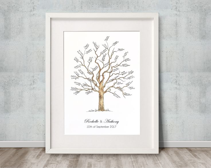 Signature tree, perfect for 10 -40 guests. By Daisywood