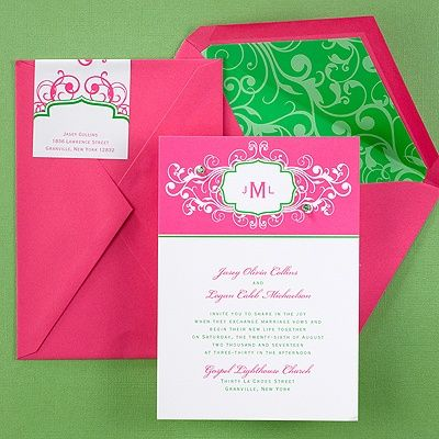 20 best images about carlson craft wedding invitations on for Carlson craft invitations discount