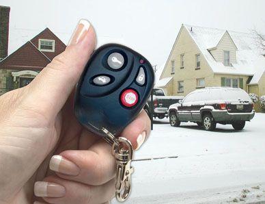 Remote Car Starter 2 remote controls 4 long-range buttons