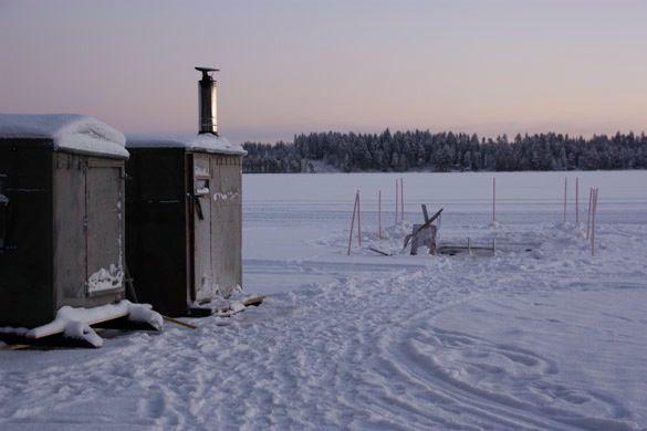 Sauna exterior Finlandia