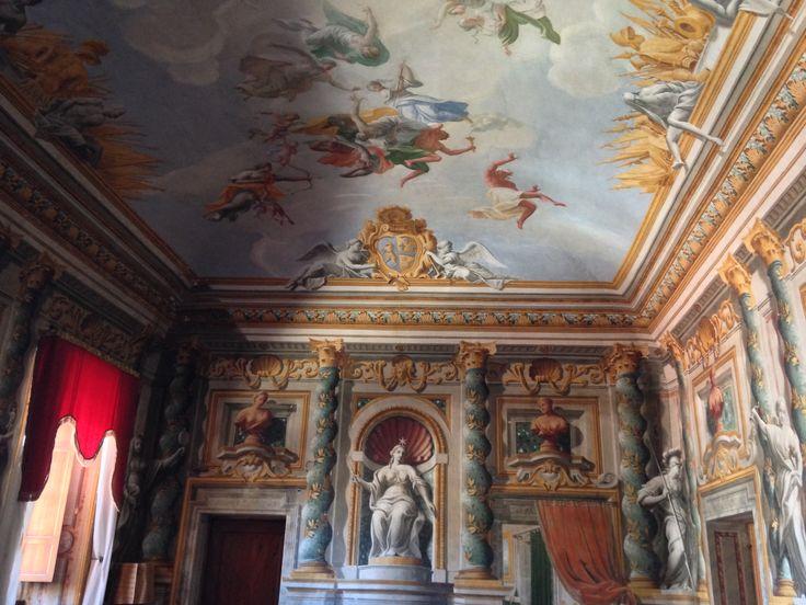 interior of an historical Palazzo