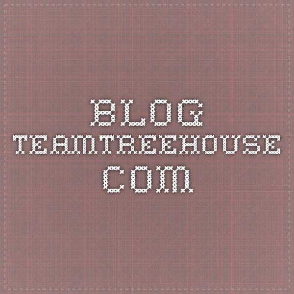 blog.teamtreehouse.com