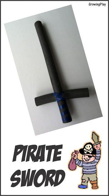 Growing Play: DIY Pirate Swords