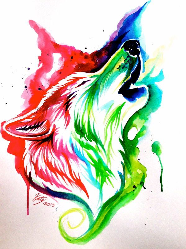 25 Best Ideas About Watercolor Wolf On Pinterest Painting Drawings And Eye