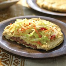 Try our Salvadoran Pupusas with Cabbage Salad recipe! This pupusas recipe is especially easy, made with GOYA® Masarica Instant Corn Masa Flour, and stuffed with a choice of GOYA® Refried Red Beans (Volteados Style) and white cheese. It's ready to serve in just 30 minutes!