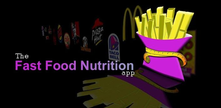 Fast Food Nutrition // Calorie Counter plus Weight Watcher's for over 350 Restaurants, including STARBUCKS.
